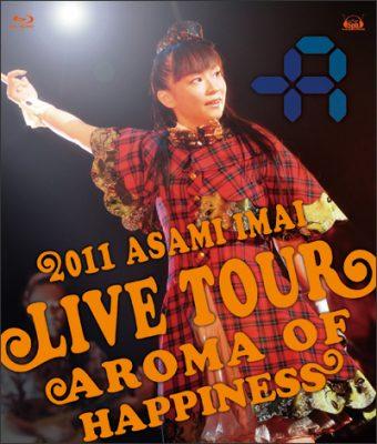 Live Tour Aroma of happiness – 2012.12.25 at SHIBUYA-AX –